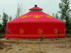 河南蒙古包客户案例