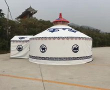 山东蒙古包客户案例170909