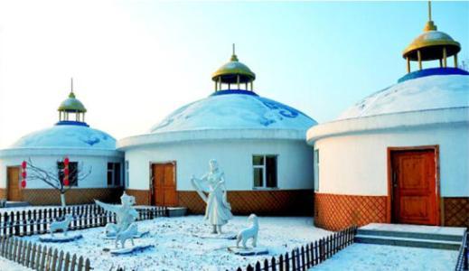 蒙古包天然的优越性