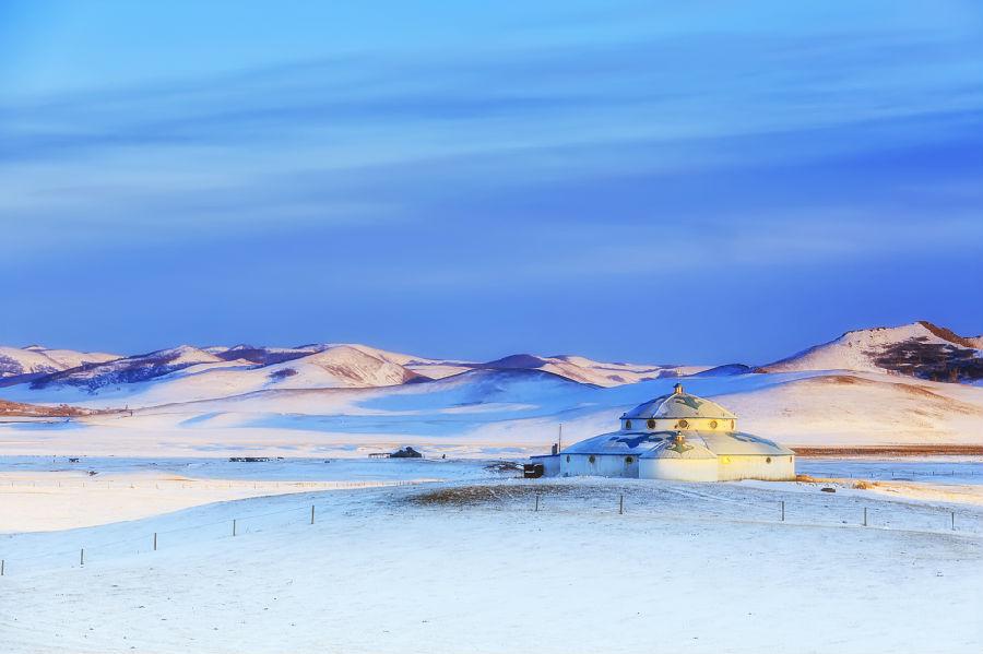 蒙古包在冬季的作用