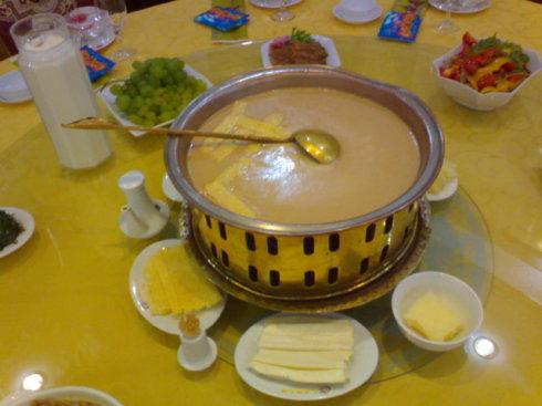蒙古族所特有的饮食文化