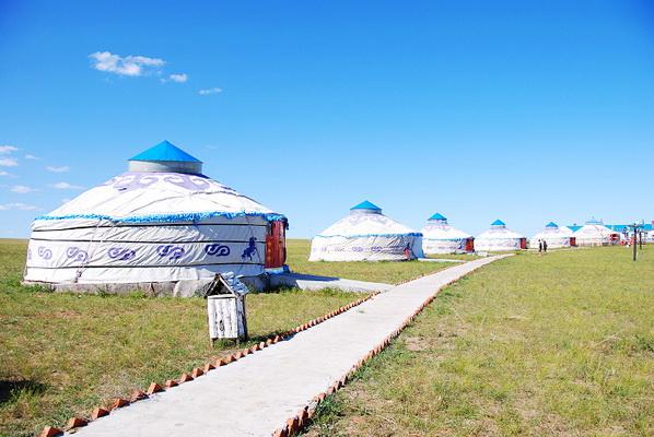 做客蒙古包,学习蒙古人传统文化