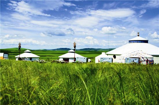 草原上流动的蒙古包极其制作工艺