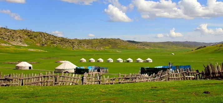 古代蒙古包中胡床的文化