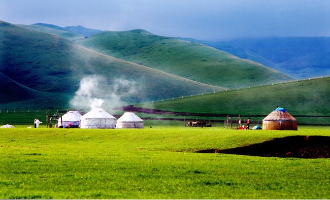 蒙古包历史渊源