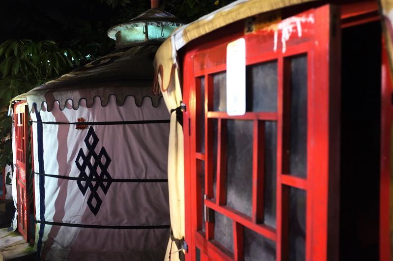 蒙古包在广州的魅力