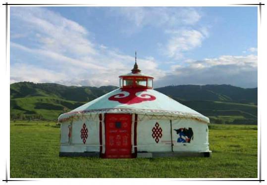 蒙古包做客的禁忌