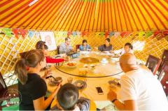 住宿蒙古包价格多少钱一个?