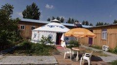 牧民草原蒙古包的居住改善