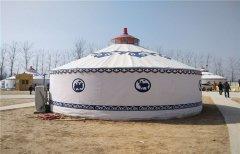 蒙古包内通风与防潮方式