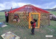 蒙古包的结构包含哪些材料?