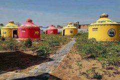 蒙古包外形适应草原环境的特点