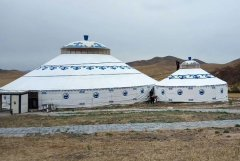 有关草原蒙古包的资料