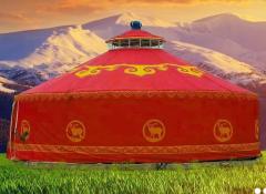 草原游牧生活对蒙古包建筑装饰的影响