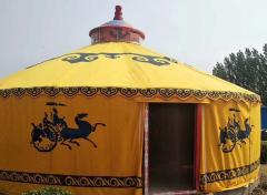 蒙古包外部结构造型的特点