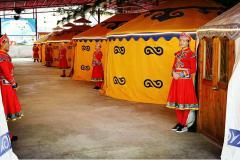 蒙古包整体结构及其象征