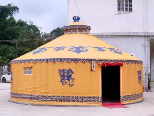 高档防水布旅游蒙古包5米20170906